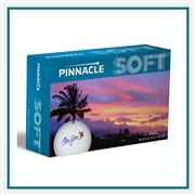 Pinnacle Soft Half Dozen Golf Balls Custom