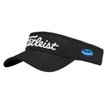 Titleist Tour Performance Visor with Custom Embroidery, Titleist Custom Hats, Titleist Corporate Logo Gear