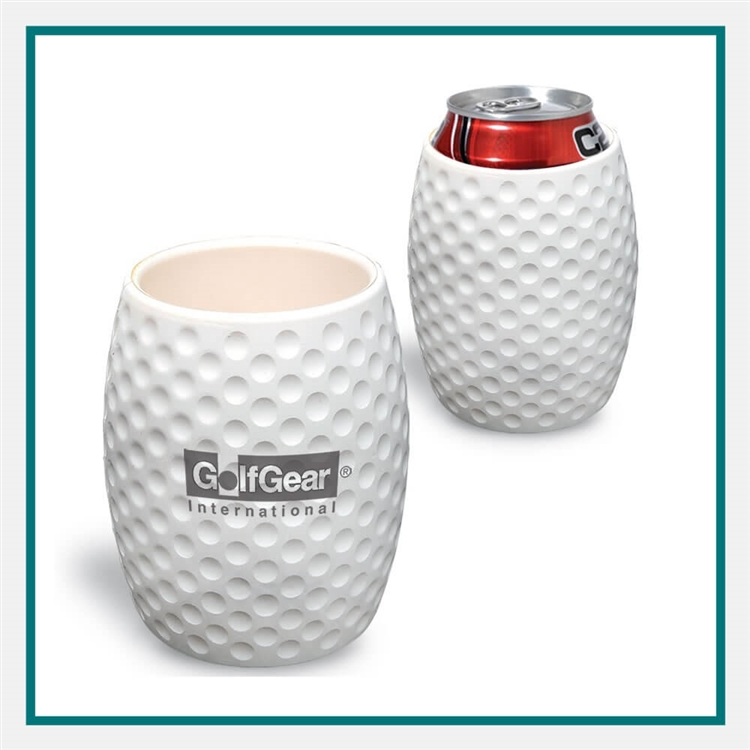 Golf Ball Textured Can Cooler