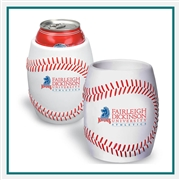Baseball Can Cooler, Baseball Can Koozie, Baseball Themed Can Cooler PL-0807