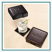 Leeman New York Times Square Coaster Set, Debossed Coaster Sets, Promotional Coaster Sets, Promotional Drink Gifts