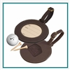 Woodbury Round Golf Bag Tag, Woodbury Bag Tag LG9066, Woodbury Bag Tag, Custom Bag Tags