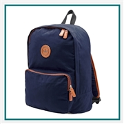 Peter Millar Crown Seal Canvas Backpack Corporate Logo