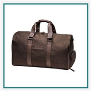 Peter Millar Heathered Twill Duffel Custom Debossed