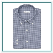 Peter Millar Men's Mimi Performance Check Sport Shirt Custom Logo