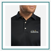 Peter Millar Mercerized Cotton Polo Custom Logo