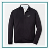 Peter Millar Men's Crown Comfort Interlock Quarter Zip Custom Embroidered