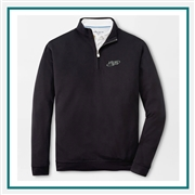 Peter Millar Crown Comfort Interlock Quarter Zip Custom Embroidered