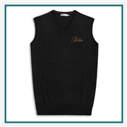 Peter Millar Men's Crown Soft V Neck Vest Corporate Logo
