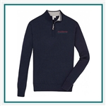 Peter Millar Men's Crown Soft 1/4 Zip Custom Embroidery