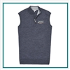Peter Millar Men's Crown Soft Quarter Zip Vest Custom Branded