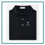 Peter Millar Men's Solid Stretch Mesh Polo Custom Branded