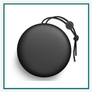 Bang & Olufsen Beoplay A1 Compact Portable Bluetooth Speaker Black 1297826, Bang & Olufsen Promotional Bluetooth Speakers, Bang & Olufsen Custom Logo