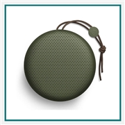 Bang & Olufsen Beoplay A1 Portable Bluetooth Speaker Moss Green Add Corporate Logo, Bang & Olufsen Co-Branded Speaker