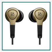 Bang & Olufsen Beoplay H3 2nd Generation Earbuds Champagne 1643256, Bang & Olufsen Promotional Earbuds, Bang & Olufsen Custom Logo