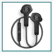 Bang & Olufsen Beoplay H5 Wireless Earbuds Black Add Corporate Logo, Bang & Olufsen Co-Branded Earbuds
