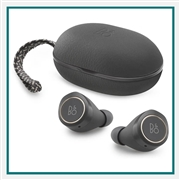Bang & Olufsen Beoplay E8 Premium True Wireless Earbuds Charcoal Sand Add Corporate Logo, Bang & Olufsen Co-Branded Earbuds