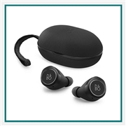 Bang & Olufsen Beoplay E8 Premium True Wireless Earbuds Black Add Corporate Logo, Bang & Olufsen Branded Earbuds