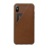 Native Union Clic Card Protective Leather Case W/ Card Holder Tan iPhone X CCARD2-TANTAU-NP17, Native Union Promotional iPhone Cases, Native Union Custom Logo