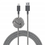 Native Union 10ft Night Cable Apple Lightning Zebra Co-Branded
