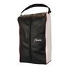 Typhoon Collection Shoe Bag with Custom Embroidery, Custom Embroidered Shoe Bags, Custom Leather Golf Shoe Bags, Embroidered Golf Shoe Bags