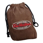 Microsuede Valuables Bag, Fairway valuables bag, Custom embroidered shoe bags, Fairway shoe bag, custom logo shoe bags