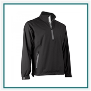 Zero Restriction Men's Power-Torque Quarter-Zip Pullover Custom Embroidered