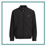 Ralph Lauren Bi Swing Microfiber Windbreaker Embroidered Logo