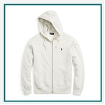 Ralph Lauren Fleece Full-Zip Hoodie POLOK130 with Custom Embroidery, Ralph Lauren Custom Fleece Hoodies, Ralph Lauren Custom Logo Gear