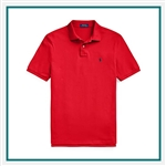 Ralph Lauren Classic Fit Mesh Polo Custom Embroidery