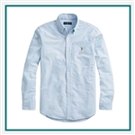Ralph Lauren Core-Fit Oxford Shirt POLOW310 with Custom Embroidery, Ralph Lauren Custom Shirts, Ralph Lauren Custom Logo Gear