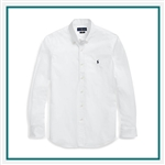 Ralph Lauren Core-Fit 60's Poplin Shirt POLOW315 with Custom Embroidery, Ralph Lauren Custom Shirts, Ralph Lauren Custom Logo Gear