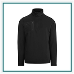 Ralph Lauren RLX Brushed Back Tech Jersey 1/2 Zip Custom Branded