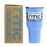 30 oz. RTIC Tumbler With Custom Laser Engraving, Branded RTIC Tumblers, Corporate RTIC Sales