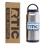18 oz. RTIC Bottle Engraved, Engraved RTIC Bottles, Corporate logo RTIC Bottles, RTIC Corporate Gifts