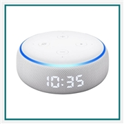 Amazon Echo Dot 3rd Gen Smart Speaker with Clock Co-Branded
