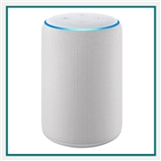 Amazon Echo 3rd Gen Sandstone Custom Logo