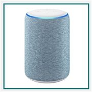 Amazon Echo 3rd Gen Twilight Blue Custom Logo