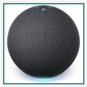 Amazon Echo Dot 4th Gen Charcoal Printed Logo