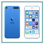 Apple iPod touch 128GB Blue Custom Logo