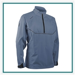 Sun Mountain Men's Tour Series LS Pullover with Custom Embroidery, Custom Sun Mountain Waterproof Pullovers, Sun Mountain Corporate Apparel