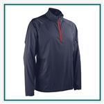 Sun Mountain Men's Zephyr LT Pullover with Custom Embroidery, Custom Sun Mountain Windproof Pullovers, Sun Mountain Corporate Apparel