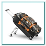 Sun Mountain Rock Creek Suitcase Embroidered, Sun Mountain Rolling Bags With Custom Embroidery, Personalized Sun Mountain Rolling Bags