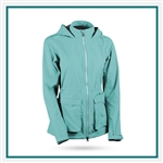 Sun Mountain Women's Cumulus Jacket with Custom Embroidery, Custom Logo Sun Mountain Rain Jackets, Sun Mountain Corporate Apparel