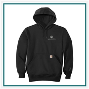 Carhartt Men's Rain Defender Paxton Heavyweight Hooded Sweatshirt CT100615 with Custom Embroidery, Carhartt Custom Rain Sweatshirts, Carhartt Custom Rainwear