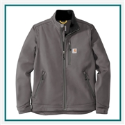 Carhartt Men's Crowley Soft Shell Jacket CT102199 with Custom Embroidery, Carhartt Custom Soft Shell Jackets, Carhartt Custom Logo Gear