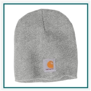 Carhartt Acrylic Knit Hat with Custom Embroidery, Carhartt Custom Beanies, Carhartt Custom Logo Gear
