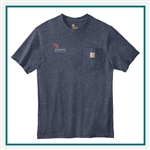 Carhartt Men's Workwear Pocket Short Sleeve T-Shirt CTK87 with Custom Embroidery, Carhartt Custom Work T-Shirts, Carhartt Custom Logo Gear