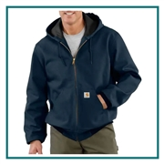Carhartt Men's Tall Thermal-Lined Duck Active Jac CTTJ131 with Custom Embroidery, Carhartt Custom Thermal Jackets, Carhartt Custom Logo Gear