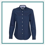 Tommy Hilfiger Women's New England Solid Oxford Shirt with Custom Embroidery, Tommy Hilfiger Corporate Dress Shirts, Tommy Hilfiger Promotional Apparel